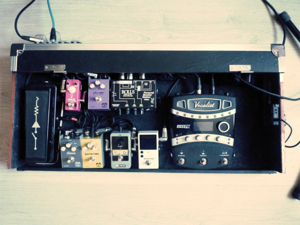 PreservEar pedalboard