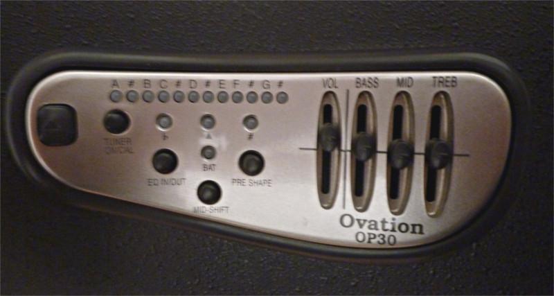 Ovation Préampli OP30
