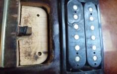 Epiphone LP 100  Avant restauration - Before restoration